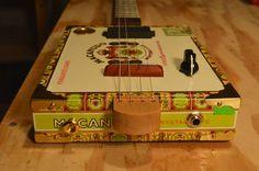 Cigar Box Guitar by BarefootBoogieGuitar on Etsy