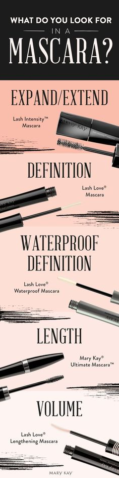 What's your go-to lash look? Whether you want bold, voluminous lashes or waterproof definition, we have five mascaras to choose from, perfect for your summer makeup look!