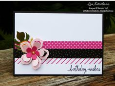 You can make such quick cards by using Washi Tape. All you need to do is grab a pack such as the Pop of Pink Designer Washi Tape that I have. Handmade Birthday Cards, Happy Birthday Cards, Greeting Cards Handmade, Birthday Wishes, Birthday Sayings, Happy Birthdays, Sister Birthday, Birthday Images, Diy Birthday
