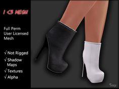 I <3 Mesh - Ankle Boots 1 - Basic