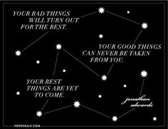 Your Best Things Are Yet To Come