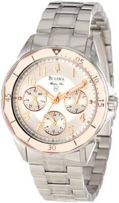 Relógio Bulova Adventurer Women's Quartz Watch 96M109 #Relogio #Bulova