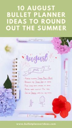 10 August Bullet Planner Ideas to Round Out the Summer - While Summer might be coming to an end, August still holds a host of fun. Rodeos, rallies and festivals galore round out the Summer months. You might even try to squeeze in one last holiday. August signals the start of a new academic year just around the corner, so you might be setting yourself some goals to achieve. Click to read more.