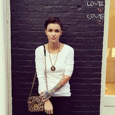 She's out and proud — Who Is Ruby Rose? Get to Know the Gorgeous Aussie Headed to OITNB