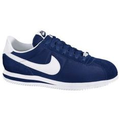 Nike Cortez in blue nylon