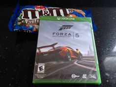 An M&M's stocking stuffer, Forza 5 for the Xbox One and a little something for me! #FueledByMM #Shop