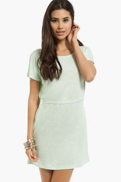 Tammy T-Shirt Dress $40 at www.tobi.com