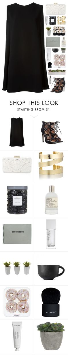 """""""NOT MY BEST #26"""" by paradiselemonade ❤ liked on Polyvore featuring McQ by Alexander McQueen, BCBGMAXAZRIA, Étoile Isabel Marant, Threshold, Le Labo, NARS Cosmetics, Nearly Natural, Givenchy, Byredo and Lux-Art Silks"""