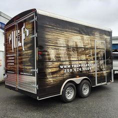 and this little piglet went to market! Trailer wrap graphics! We do them up right! Info@canawrap.com #canawrap2016 #trailerwrap #foodtrailer #foodie #truckwrap #eatstreet #eatst #vehiclewraps #canawrap #newwestminster #vancouver #edmonton #calgary #vehiclewrap #carwrap #3m #avery #wraps #customwrap #commercialvehiclewraps #hplatex #design #customdesign #branding #rebranding #fullservice #fleet #fleetwrap by canawrap