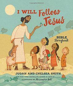 I Will Follow Jesus Bible Storybook by Judah Smith http://www.amazon.com/dp/0718033868/ref=cm_sw_r_pi_dp_UZ.exb15Q0EG5