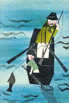 Helena Rokytova, Jožánek (SNDK Praha 1966) Illustration from children's book.