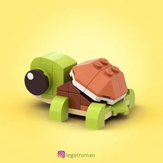 Humanistic filed lego projects this contact form Lego Duplo, Lego Moc, Lego Cars, Lego Disney, Lego Design, Legos, Baby Tortoise, Amazing Lego Creations, Lego Activities