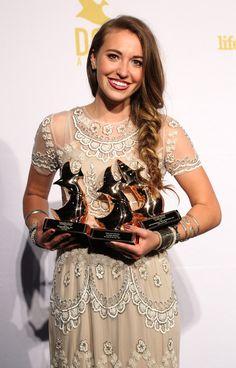 Lauren Daigle Photos - 46th Annual GMA Dove Awards - Press Room - Zimbio