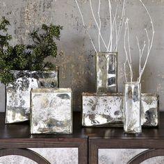 Mercury Glass I love mercury glass!!!!