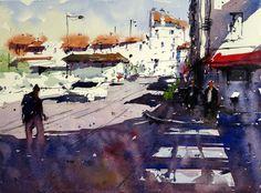 #watercolor #biarritz #Saunders #StcMill