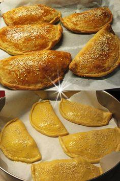Υπέροχες τυρόπιτες Κουρού! - Συνταγές για όλους Pretzel Bites, Bread, Food, Brot, Essen, Baking, Meals, Breads, Buns