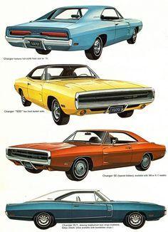 1970 Dodge Charger Range