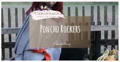 Poncho für den Herbst nähen: Unser Poncho Rockers