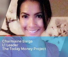 Superstars please help me CONGRATULATE our lovely Charmaine Barga on her achievement of the L1 rank with the Today Money Project!!  So honored to work with you every day - you are an amazing leader and are a great example of how to CARE for others and make a difference for your colleagues in this space.    You are THERE for people with an open heart and mind and impacting this profession for the better - we are GRATEFUL for your leadership here in Networking Superstars!  YOU ARE AWESOME…