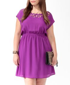 bought this weekend. love the color. too casual? (Cutout Neck Dress | FOREVER21 PLUS - 2011409045 via forever21.com)