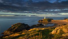 Llanddwyn Island also known as St. Dwynen's Island in lovely Wales. Definitely on my list of must visits!