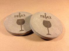 Concrete Coaster | Wine