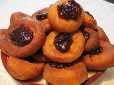 Czech Recipes, Russian Recipes, Doughnut, Cheesecake, Muffin, Food And Drink, Cookies, Fruit, Breakfast