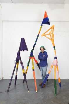 Anton Alvarez, The Craft of Thread Wrapping series, Ongoing, photograph by Paul Plews