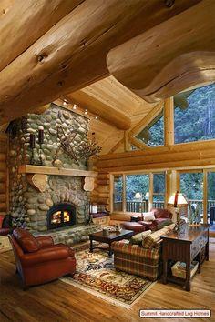 Casa na montanha…