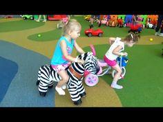 Алиса едет в ТРК СБС развлечение для детей игровая комната Entertainment...