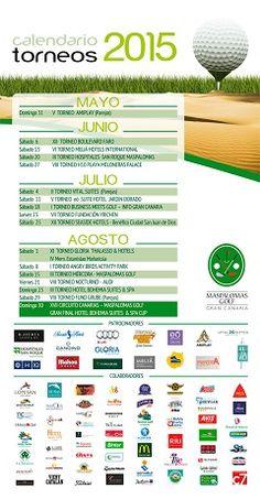 Calendario de torneos en Gran Canaria. Maspalomas Golf. Canarias. Eventos de golf.