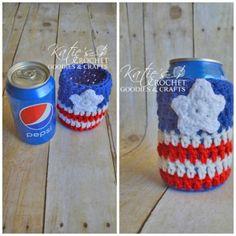 Free USA Cozie Pattern