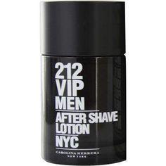 212 Vip By Carolina Herrera Aftershave 3.4 Oz