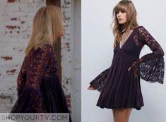 The Originals: Season 3 Episode 8 Camille's Purple Lace Dress