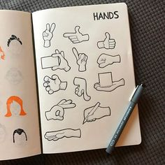 via @morganhlane on Instagram @therevisionguide Always hate drawing hands, find them so difficult! More practise needed, to avoid rubbing out so often! #revisionguide_52wvv #52wvv_week3 #graphgear1000 #staedtler #copicmarkers #leuchtturm1917 #sketchnotes #visualthinking #cartoonstyle