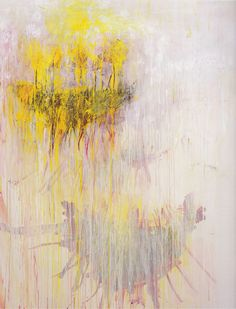 Coronation of Sesostris, Panel 7, 2000 par Cy Twombly (1928-2011)