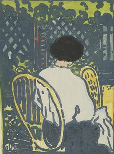 Jean-Emile Laboureur (1877 - 1943), In the Garden (Dans le jardin), Van Gogh Museum, Amsterdam