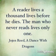 Great quote from Jojen Reed  (A Song of Ice and Fire)