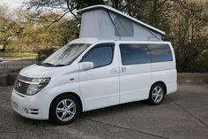 Nissan Elgrand Camper Conversions at Free Spirit Autos - top quality camper van conversions at the UKs premier Elgrand conversion specialist 4 Berth Campervan, Used Camper Vans, Nissan Elgrand, N Golo Kante, Towing Vehicle, Go Outdoors, Camper Conversion, Motorhome, Used Cars