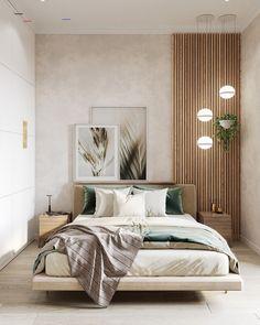 Relaxing Bedroom Color – Home Bedroom Modern Bedroom Design, Home Room Design, Bed Design, Contemporary Bedroom, Modern Bedrooms, Design Kitchen, Modern Luxury Bedroom, Modern Apartment Design, Modern Minimalist Bedroom