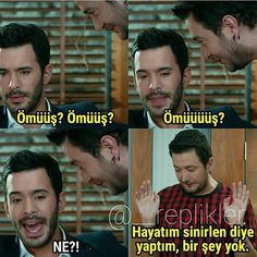 Find images and videos about kiralik ask on We Heart It - the app to get lost in what you love. Comedy Pictures, Funny Share, Famous Memes, Learn Turkish Language, Elcin Sangu, Phone Wallpaper Quotes, Arabic Funny, Funny Times, Cute Cat Gif