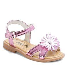 Pink Daisy Sandal