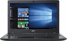 "Acer - Aspire E 15 15.6"" Laptop - Intel Core i5 - 4GB Memory - 1TB Hard Drive - Obsidian black - Front Zoom"