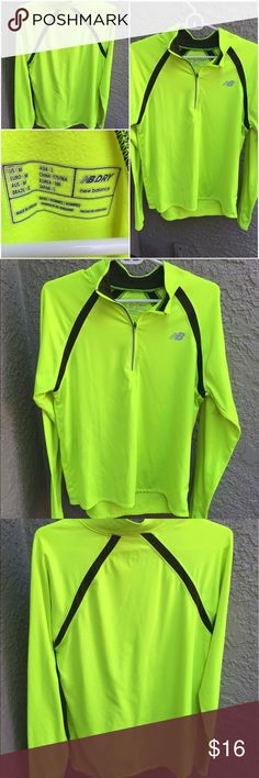🔷Men's New Balance Quarter-Zip🔷 Men's Small New Balance Quarter-Zip - this quarter-zip is in excellent condition. It's great for running and training outdoors! Let me know if you have any questions. New Balance Jackets & Coats Performance Jackets
