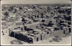 Vintage postcard of Kano, Nigeria