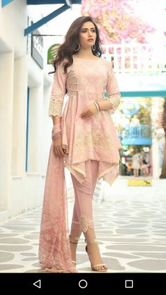 Women S Fashion Kingston Code: 4770465219 Pakistani Fashion Casual, Pakistani Dresses Casual, Indian Gowns Dresses, Pakistani Bridal Dresses, Pakistani Dress Design, Indian Outfits, Indian Fashion, Stylish Dresses For Girls, Wedding Dresses For Girls