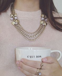 C'est bon! Shop these pieces (+ more!) at up to 65% off in our Semi-Annual Sale, now live on my boutique!  https://www.chloeandisabel.com/boutique/lisahaas #lisasciboutique