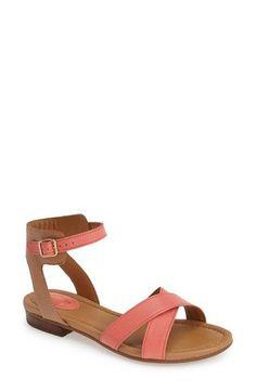 9e8d1626572c Clarks®  Viveca Zeal  Leather Ankle Strap Sandal (Women)