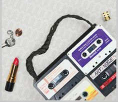 Repurpose: Cassette Tape Purse - January/February 2012 - Sierra Magazine - Sierra Club