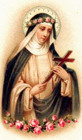 August 23 St Rose of Lima born 1586 died 1617 aged 31 She